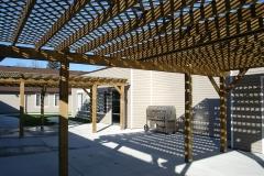 Don Douglas Courtyard and Ila's Garden